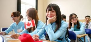 Vietnamese-Student-Canada-Flag