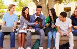 amerika'da öğrenciler