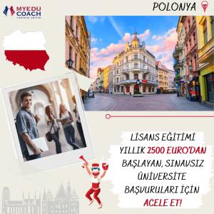 Polonyada Üniversite Okumak